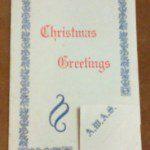 AWAS WWII Xmas Card