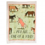 You Are One of a Kind Tea Towel