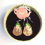 snugglepot earrings 1